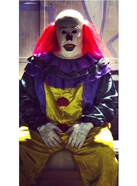 Disfraz de payaso clásico de horror - traje