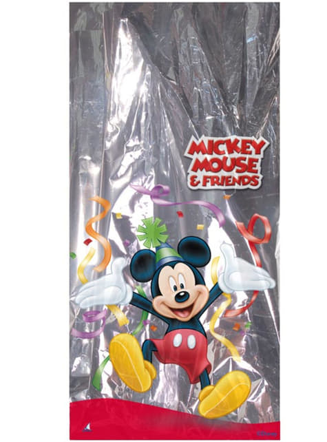 100 sachets rectangulaires métal Mickey Mouse