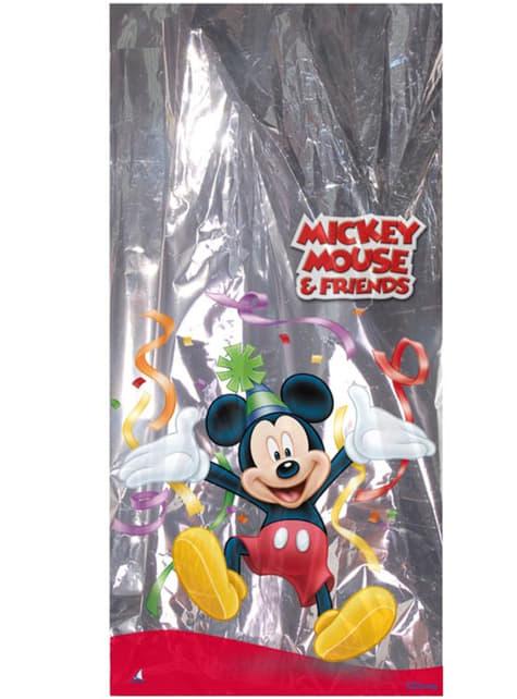 Pack de 100 bolsas rectangulares metalizadas Mickey Mouse