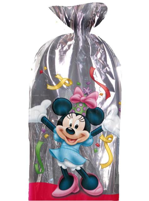 Pack de 100 bolsas rectangulares metalizadas Mickey Mouse - para tus fiestas