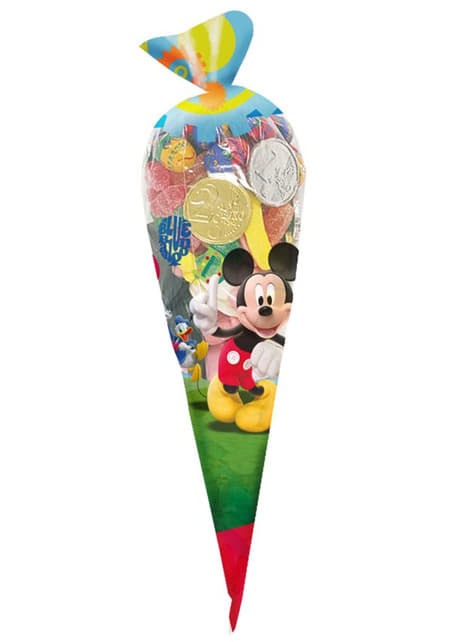 10 sachets cornet géant Mickey Mouse Clubhouse