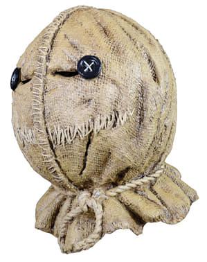 Latexová maska Sam Burlap Halloweenská noc
