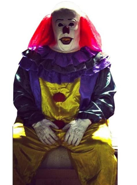 Disfraz de payaso clásico de horror - Halloween