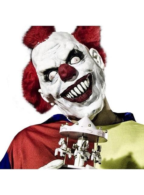 Maska vraždeného klauna