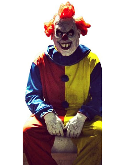 Déguisement clown amusant adulte