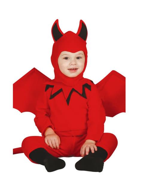 Fato de diabo para bebé
