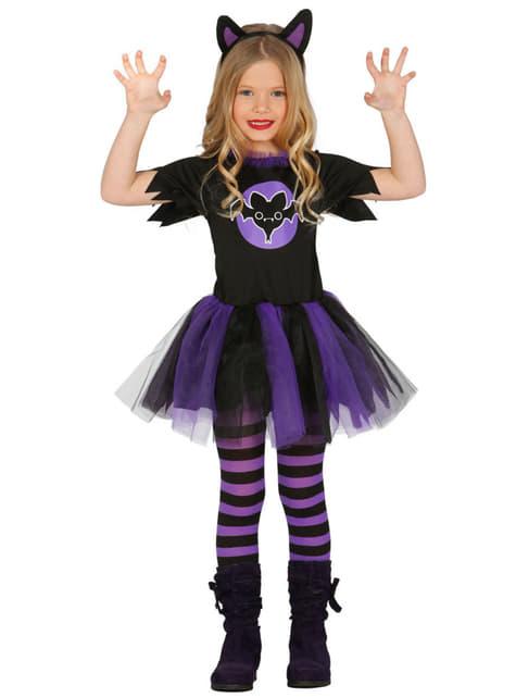 Disfraz de vampira tutú para niña