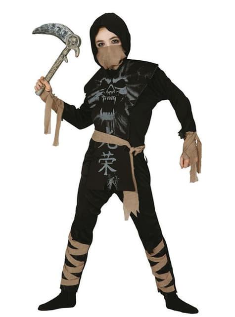 Childrens Ghost Ninja Costume