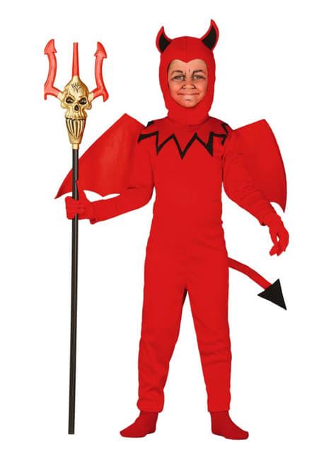 Disfraz de diablo monstruoso para niño