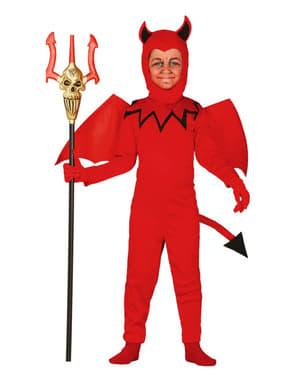 Fasansfull djävul Maskeraddräkt Barn