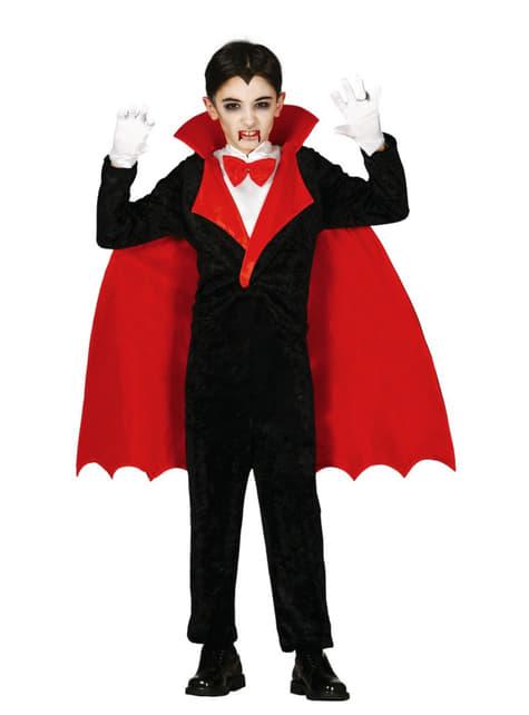 Kostium Hrabia Dracula dla chłopca