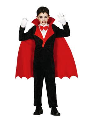 Fato de Conde Drácula para menino