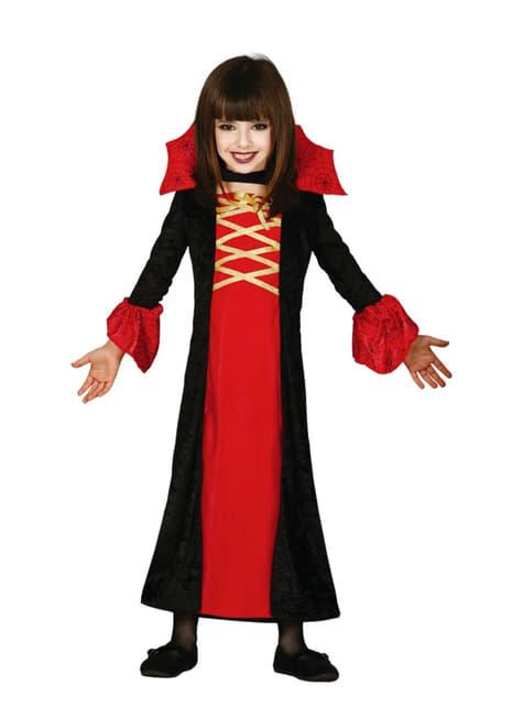 Girls Vampiress Costume