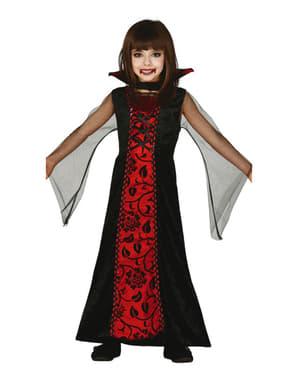 Gotisk vampyra Maskeraddräkt Barn