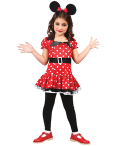 Girls Pretty Mousey Costume