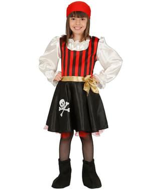 Girls Skull Piratess Costume