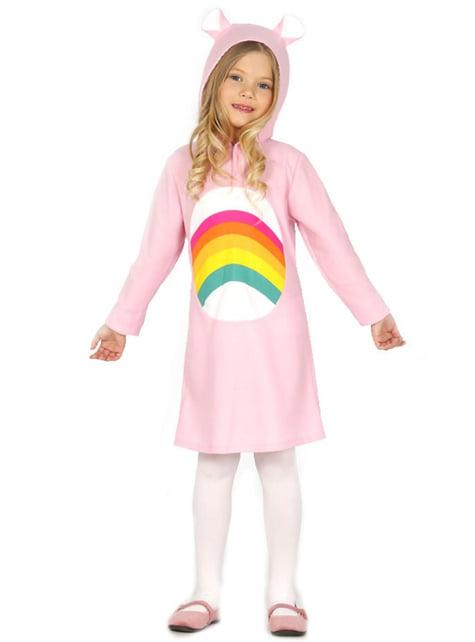 Girls Pink Teddy Bear Costume