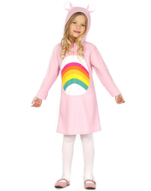 Dívčí kostým plyšový medvídek růžový
