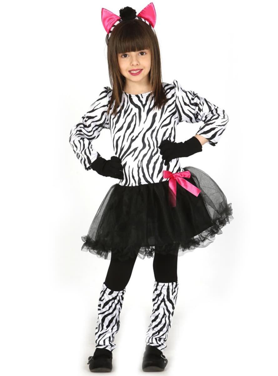lustiges zebra kost m f r m dchen online kaufen bei. Black Bedroom Furniture Sets. Home Design Ideas