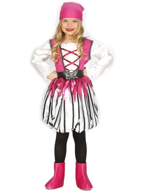 Disfraz de pirata coqueta para niña