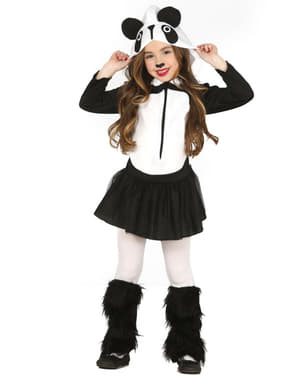 Girls Panda Costume