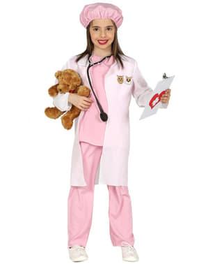 Dievčenský kostým veterinárka