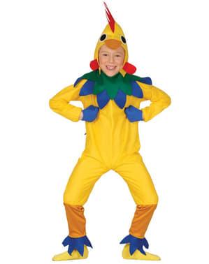 Glade Lille Kylling Kostyme til Jenter