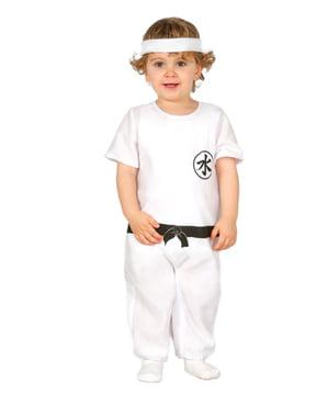 Costum de kung fu pentru bebeluși
