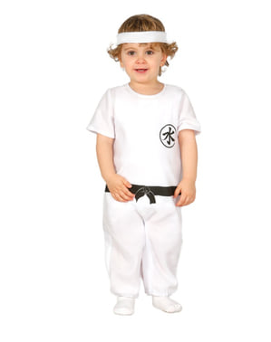 Strój kung fu dla niemowląt