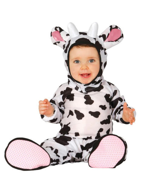 בתינוקות חמודים קטנות פרה תלבושות
