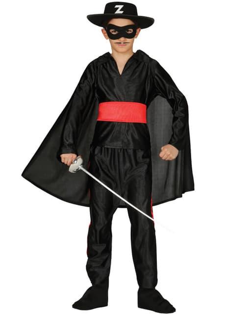Boys Masked Zorro Costume
