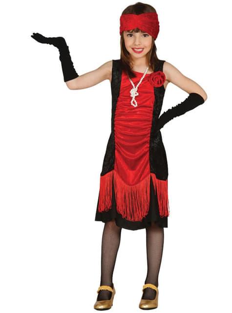 Disfraz de charlestón para niña