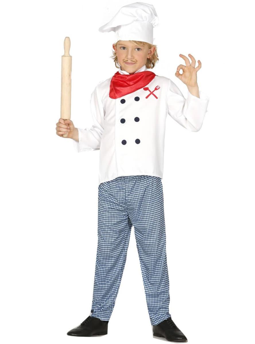 disfraz de cocinero franc s para ni o have fun funidelia