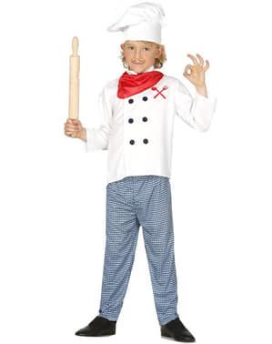 Costum de bucătar francez pentru copii