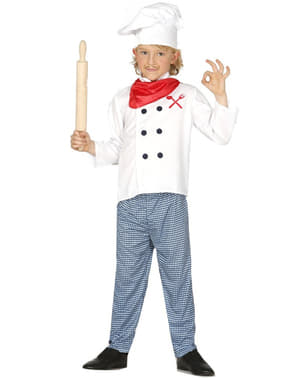Franse kok kostuum voor jongens