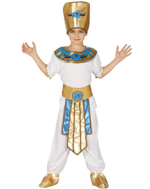 Fato de faraó milenário para menino