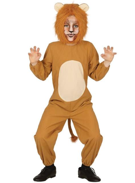 Chlapecký kostým neohrožený lev
