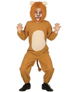 Costum de leu curajos pentru băiat