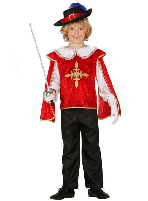 Boys Brave Musketeer Costume