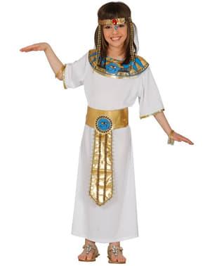 Fato de egípcia milenária para menina