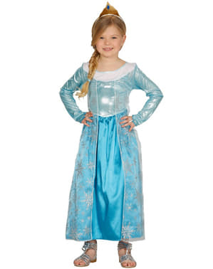 Girls Ice Princess Costume