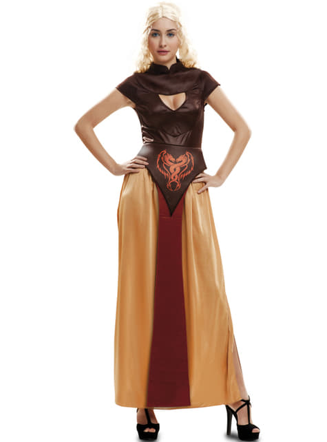 Womens Warrior Queen of Dragons Costume