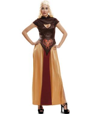 Dragedronning Kriger Kostyme Dame
