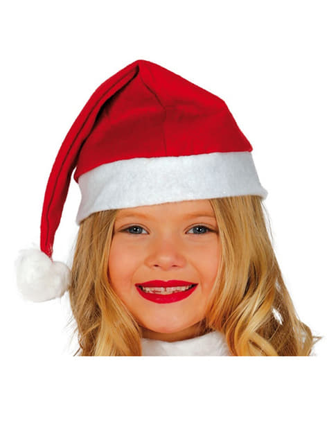 Childrens Father Christmas Hat