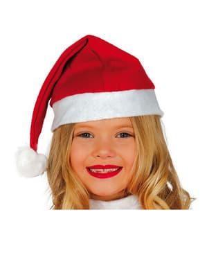Gorro de Pai Natal infantil