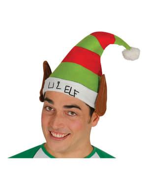 Gorro de elfo com orelhas para adulto