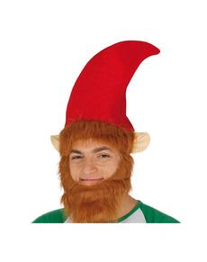 942c0c67e57ed Adults Elf Hat with Beard