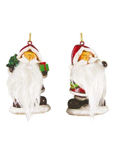 Figura decorativa de Papá Noel 7,5 cm