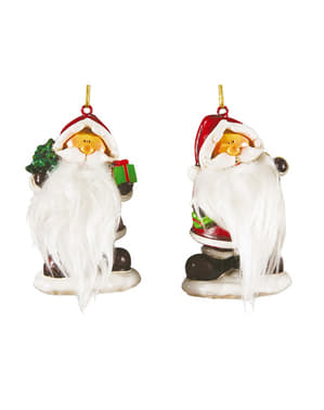 7.5cm Father Christmas Decorative Figure
