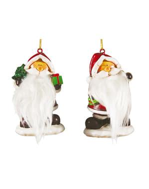 Figura decorativa de Pai Natal 7,5 cm